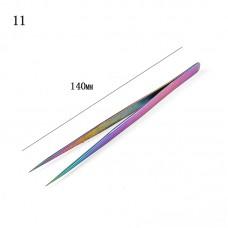CQN Пинцет для ресниц прямой 1533/f221-11...