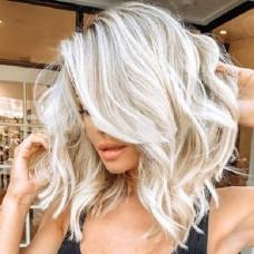 GMC Парик волнистые волосы сред/д.  (хол.блонд) 31...