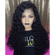 GMC Парик длин.волос афро-кудри  (черный) 3142/JW-...