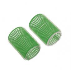 DW Бигуди-липучки зеленые d20 мм 12шт R-VTR8...