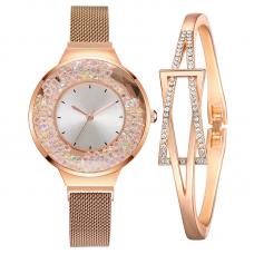 HL Женские кварцевые часы с дизайном 31890/WH-CD-0...