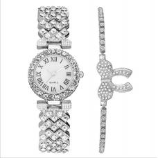 HL Женские часы с браслетом серебро 3193/SB-072-2...