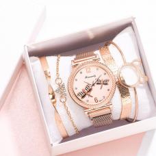 HL Женские часы с браслетом Бабочка роз/зол 3200/W...