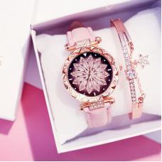 HL Женские часы с браслетом Цветок  3205/SB-043...