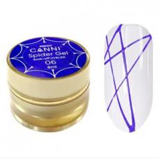 CANNI Гель-лак Паутинка №6 8 г. фиолетовый  (баноч...