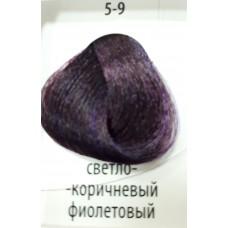 ДТ Крем-краска 5-9 Светлый коричневый фиолетовый 6...