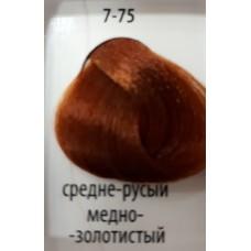 ДТ Крем-краска 7-75 Средний русый медный золотисты...
