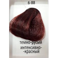 ДТ Крем-краска 6-88 Темный русый интенсивный красн...