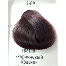 ДТ Крем-краска 5-89 Светлый коричневый красный фио...