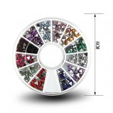 CToday Стразы в карусельке YP-15 (разноцветные тре...