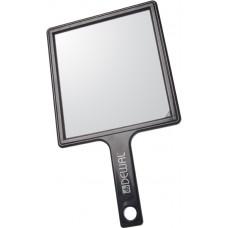 DW Зеркало заднего вида пластик черное с ручкой 21...
