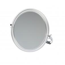 DW Зеркало настольное, в прозрачной оправе, на мет...