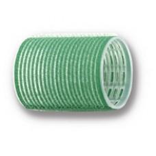 Бигуди-липучки зеленые d48 мм 12шт R-VTR1...