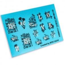 BPW 3D Слайдер-дизайн Secret love 3d243...