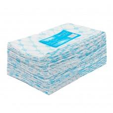 Полотенце большое 45*90 пачка голубой спанлейс 50 ...