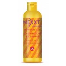 NXT Шампунь-шелк ламинирование и кератирование вол...