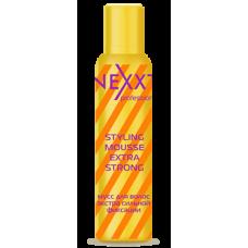 NXT Мусс для волос экстра сильной фиксации 200 мл....
