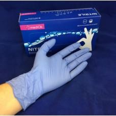 MediOk Перчатки Supermax нитриловые размер М 50 па...