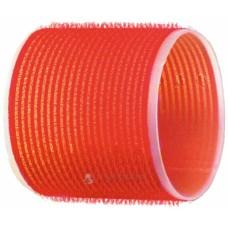 Бигуди-липучки красные d70 мм 6шт R-VTR18 20934...