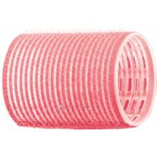 Бигуди-липучки розовые d44 мм 12шт R-VTR2...