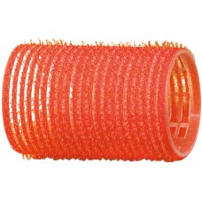 Бигуди-липучки красные d36 мм 12шт R-VTR4 20927...