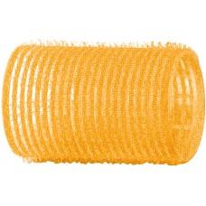 Бигуди-липучки желтые d32 мм 12шт R-VTR5 20928...
