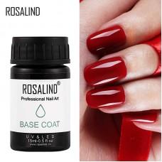 ROSALIND No wipe Base, 15 мл ( без липкого слоя, б...