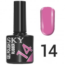 SKY Гель-лак №014 Розовый 10 мл....